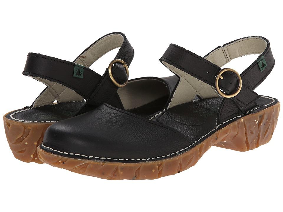 El Naturalista Yggdrasil N178 Black Womens Shoes