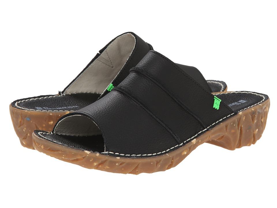El Naturalista Yggdrasil NC91 Black Womens Shoes