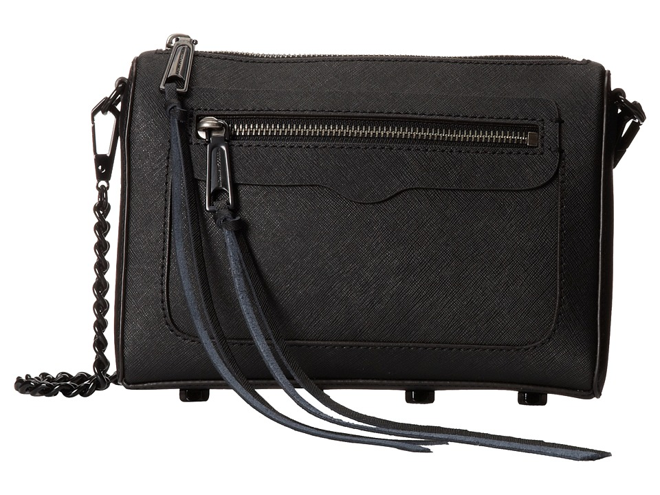 Rebecca Minkoff - Avery Crossbody (Black) Cross Body Handbags