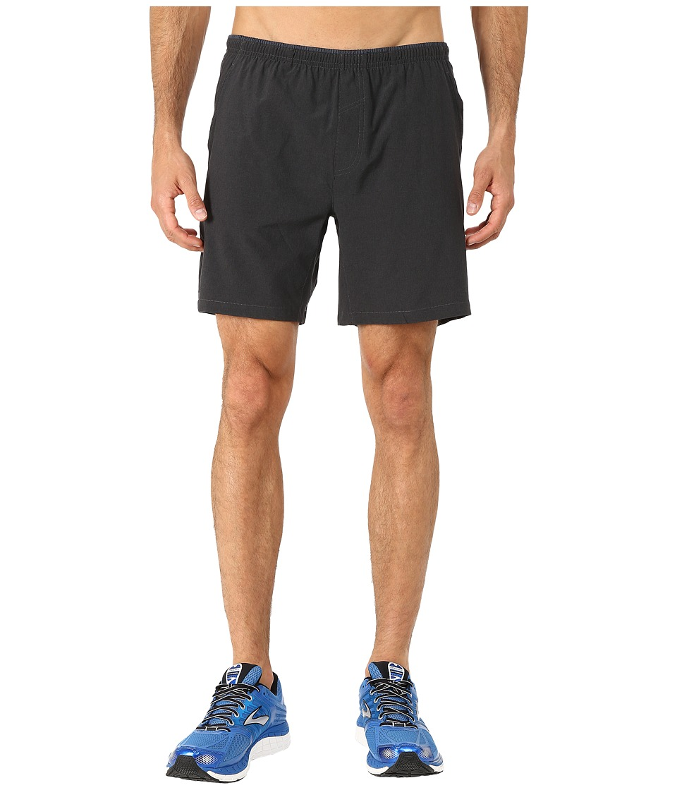 Brooks Sherpa 7 Shorts (Heather Black) Men