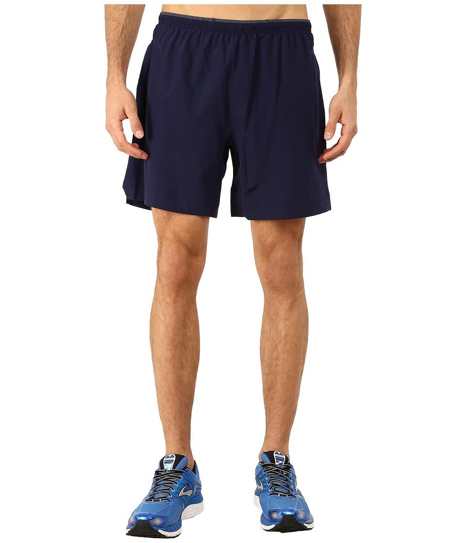 Brooks Sherpa 7 2-in-1 Shorts (Navy) Men