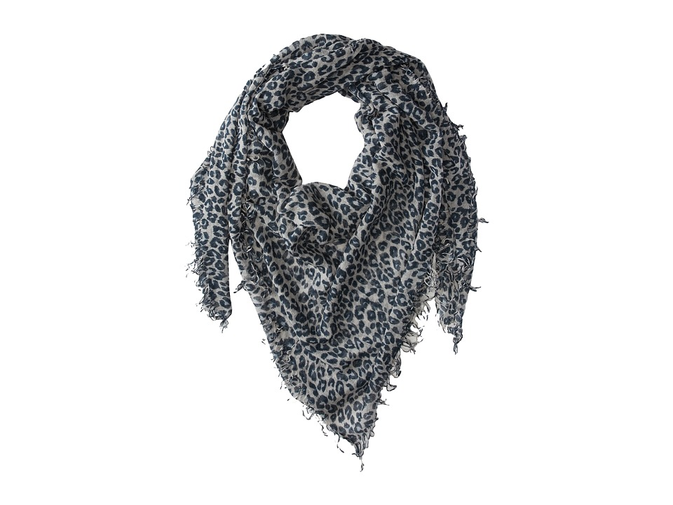 Chan Luu - Leopard Cashmere and Silk Scarf  Scarves