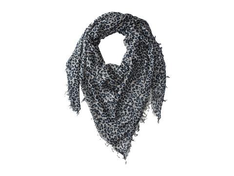 Chan Luu Leopard Cashmere and Silk Scarf - Windchime Combo