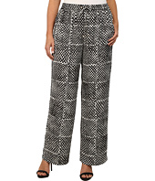 MICHAEL Michael Kors - Plus Size Printed Wide Leg Pants