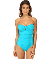 Tommy Bahama - Pearl Bandeau One-Piece with Center Strings