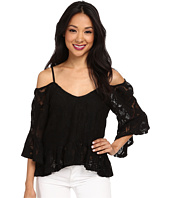 Nightcap - Crochet Ruffle Blouse