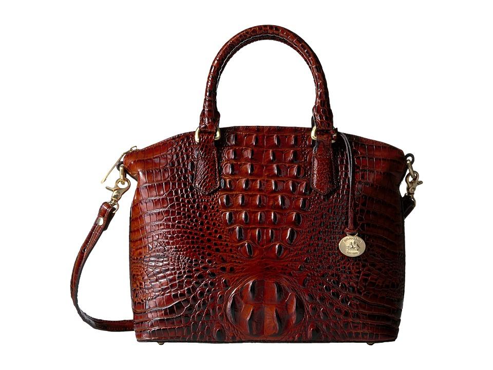 Brahmin - Duxbury Satchel (Pecan) Satchel Handbags