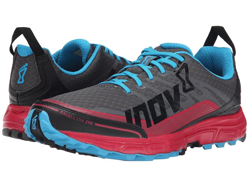 inov-8 - Race Ultra 290 (Grey/Berry/Blue) Womens Running Shoes