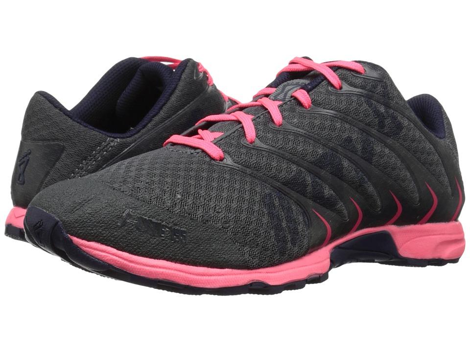 inov-8 - F-Lite 195 (Grey/Pink/Navy) Womens Running Shoes