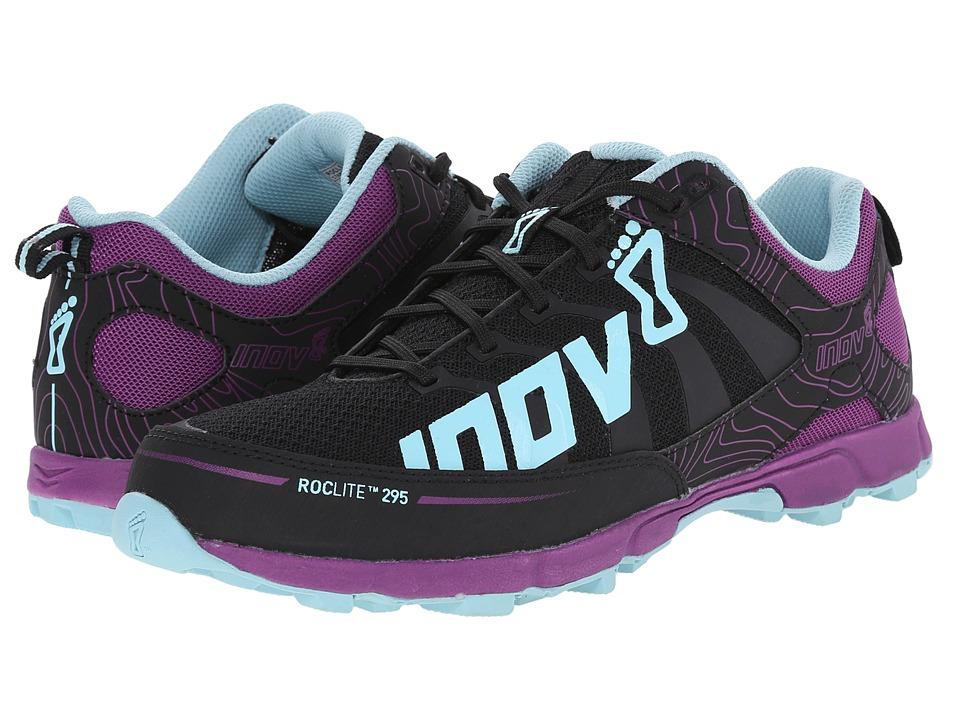 inov 8 Roclite 295 Grey/Purple/Blue Womens Running Shoes