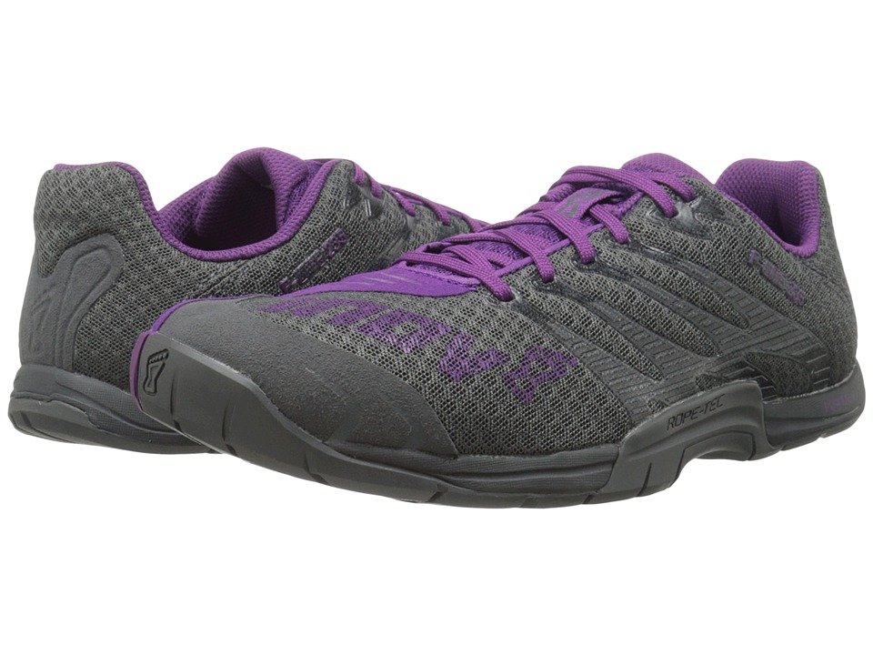 inov 8 F Lite 235 Grey/Purple Womens Running Shoes