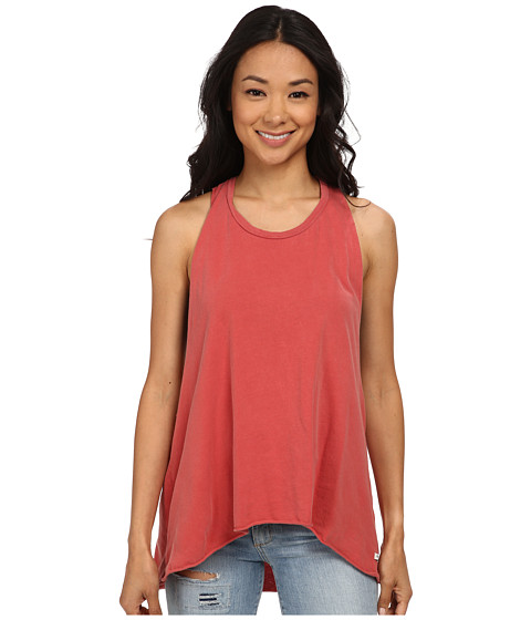 obey paige tank top dusty mineral red. Black Bedroom Furniture Sets. Home Design Ideas