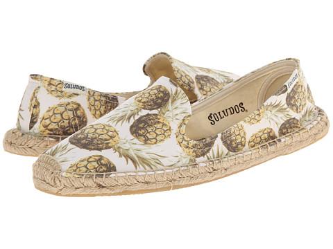 Soludos Smoking Slipper Pineapple
