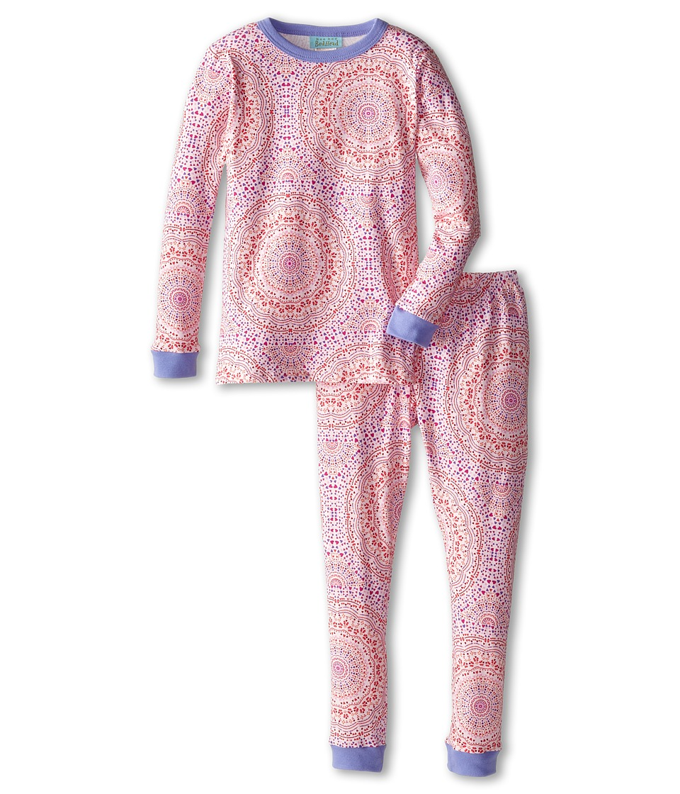 BedHead Kids Snug Fit L/S Classic PJ (Toddler/Little Kids) (Kaleidescope Hearts) Girl's Pajama Sets