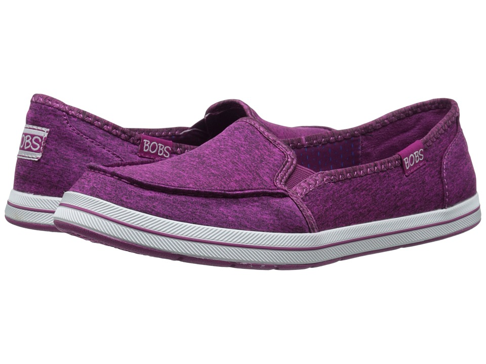 BOBS from SKECHERS Bobs Flexy Raspberry Womens Slip on Shoes