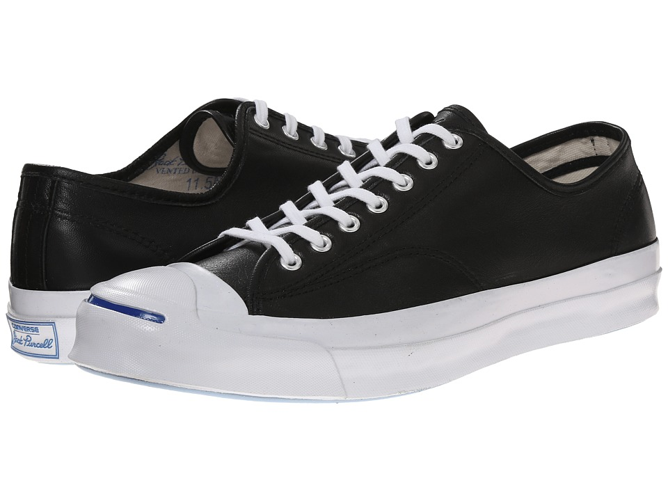 Converse Jack Purcell Signature Ox Black/White/Natural Lace up casual Shoes