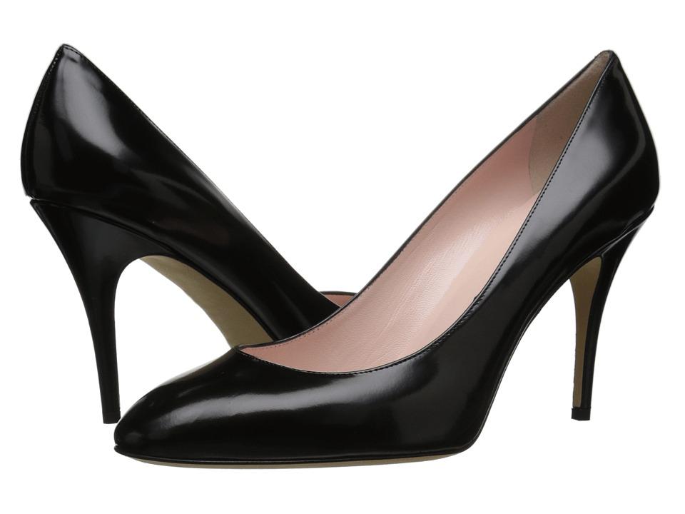 Kate Spade New York - Dani (Black Polished Calf) High Heels