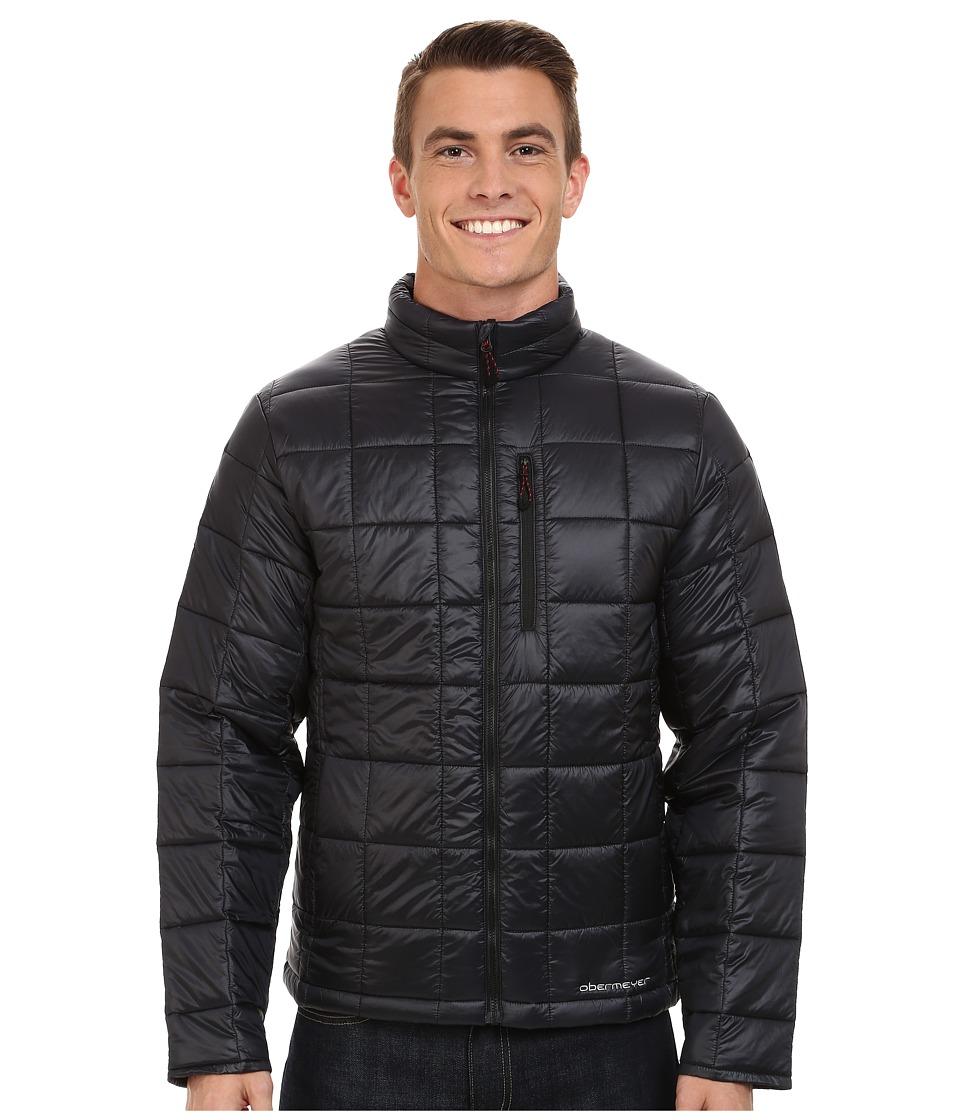 Obermeyer Vector Insulator Jacket Black Mens Coat