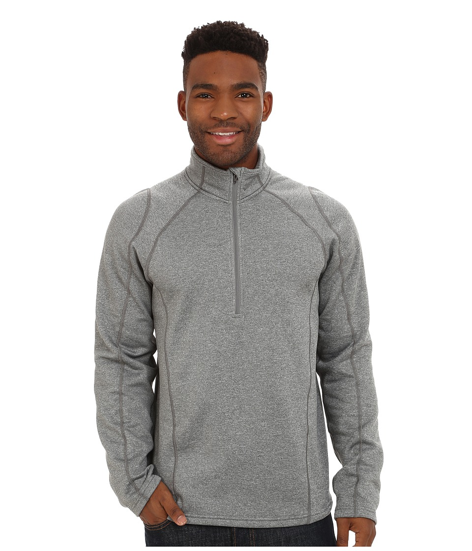 Obermeyer Marathon 150 Dri-Core Top (Heather Grey) Men's ...