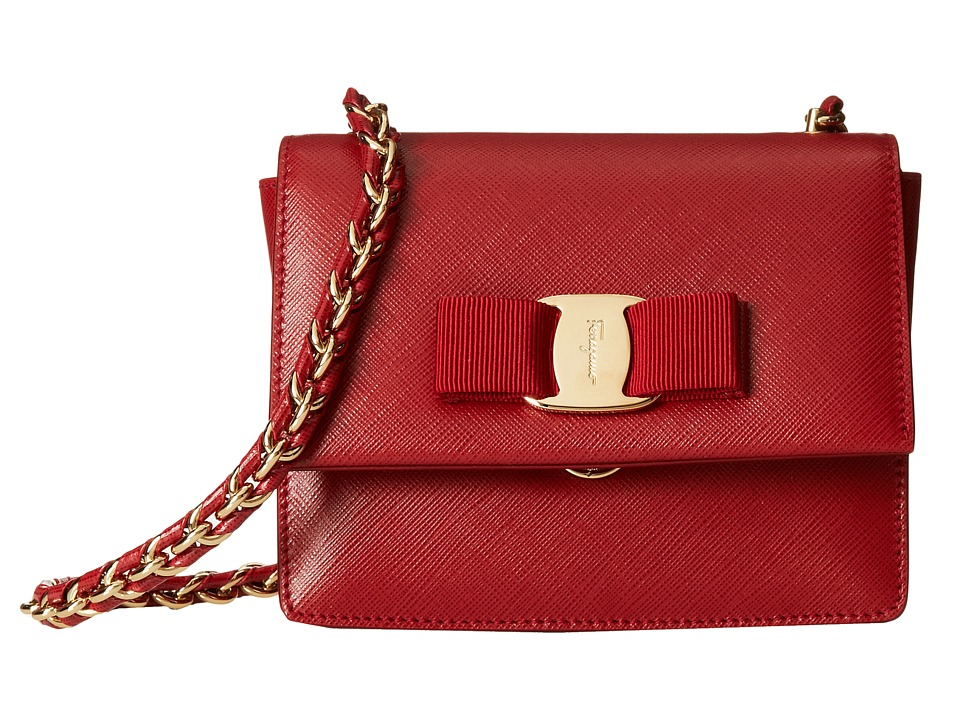 Salvatore Ferragamo - 21E479 Ginny (Rosso) Handbags