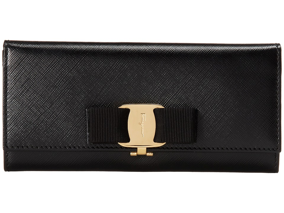 Salvatore Ferragamo - 22B559 (Nero) Continental Wallet