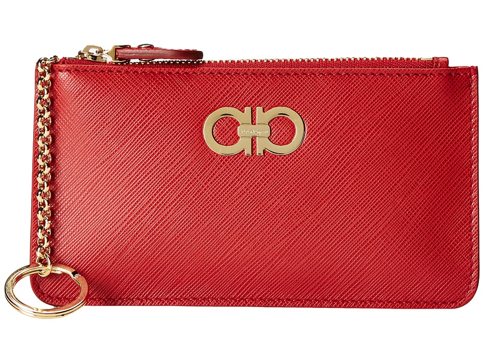 Salvatore Ferragamo - 22B956 (Rosso) Cross Body Handbags