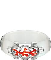 Alexis Bittar - Enamel Studded Bedarra Hinge Bracelet