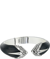 Alexis Bittar - Brilliant Cut Baguette Stepped Brake Hinge Bracelet