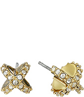 Alexis Bittar - Encrusted Criss Cross Stud Post Earrings