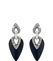 Alexis Bittar - Crystal Encrusted Dangling Post Earrings