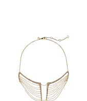Alexis Bittar - Encrusted Multi-Chain Bib Necklace