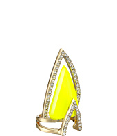 Alexis Bittar - Crystal Encrusted Chevron Cocktail Ring