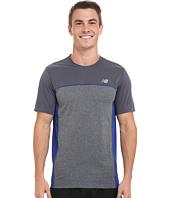 New Balance - Tech Run Short Sleeve Top