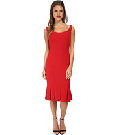JILL JILL STUART - Scoop Neck Fitted Elastane Dress