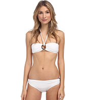 Michael Kors - Bandeau Bikini w/ Logo Ring Set