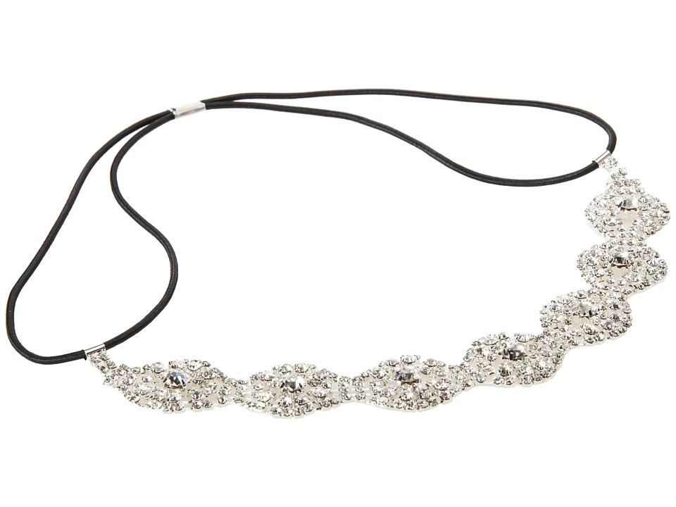 1920sFlapperHeadbands Nina - Sanya SilverCrystal Hair Accessories $31.00 AT vintagedancer.com
