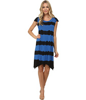 kensie - Stripe Tie-Dye Dress KS6P7593