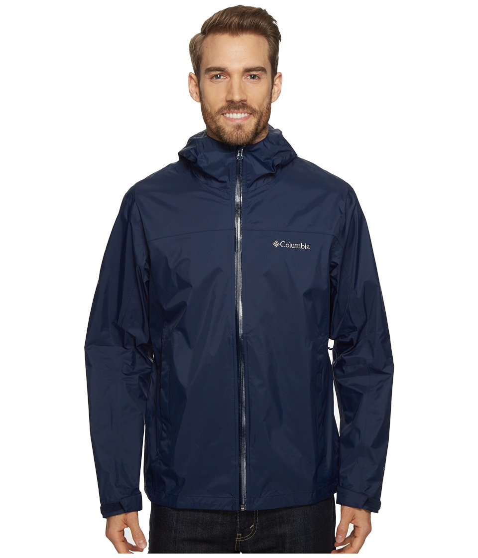 Columbia EvaPOURation Jacket (Collegiate Navy) Men