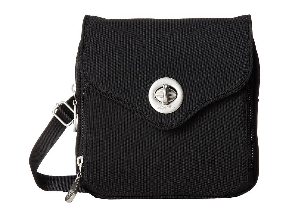 Baggallini Kensington Black Sand Handbags