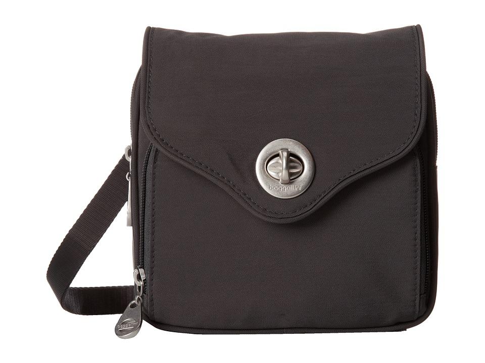 Baggallini Kensington Charcoal Handbags