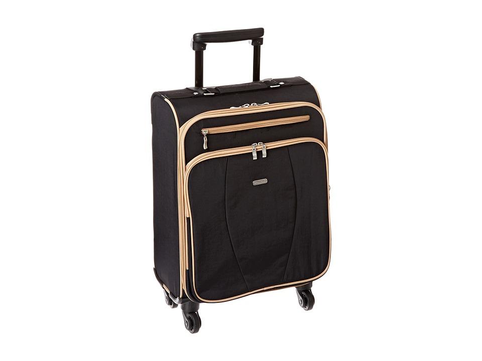Baggallini Getaway Roller Black Sand Pullman Luggage