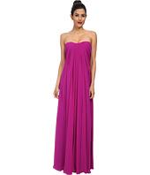 JILL JILL STUART - Strapless Chiffon Gown