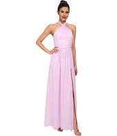 JILL JILL STUART - Aurora Knotted Halter Gown