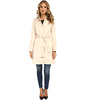 Via Spiga - Single-Breasted Satin Trench with Belt
