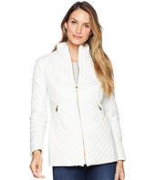 Via Spiga - Quilt with Stand Collar and Front Zip