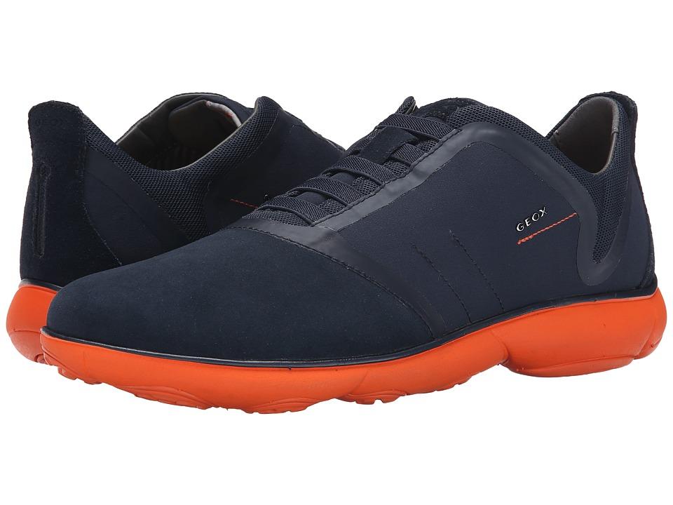 Geox - U Nebula 14 (Navy/Orange) Men