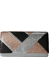 Jessica McClintock - Color Block Mesh Clutch