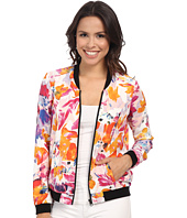 NYDJ - Tropical Floral Print Bomber