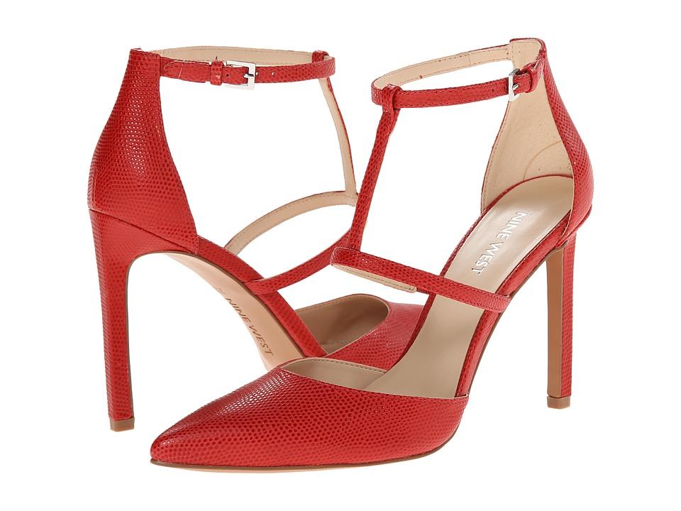 Nine West - Tornaydo (Red Leather) High Heels