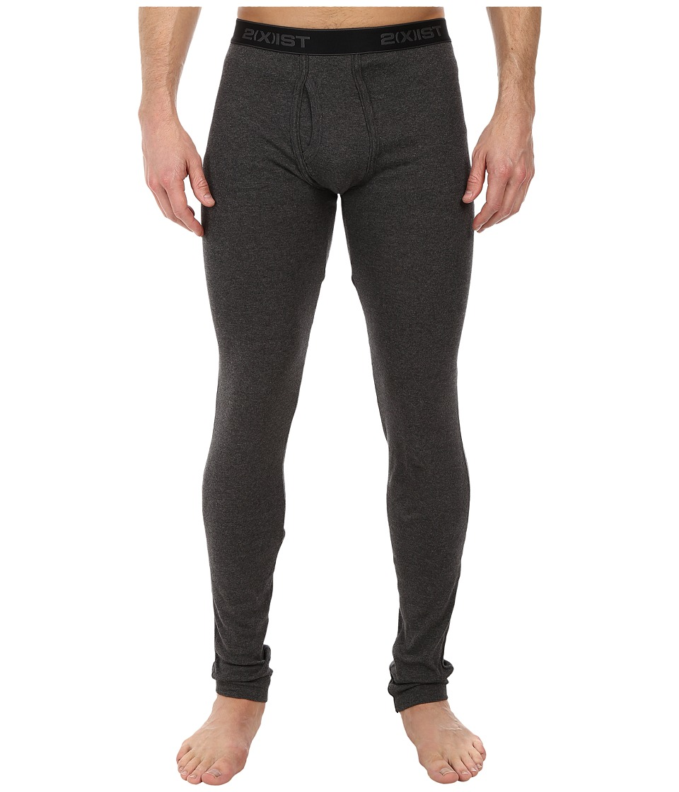 2(X)IST - Essentials Long Underwear (Charcoal) Men